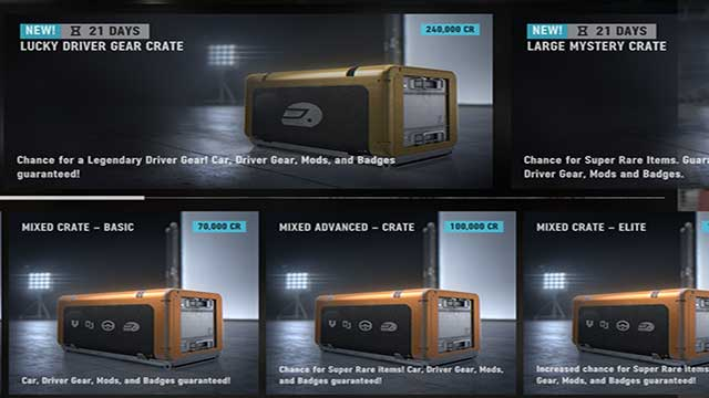 prize crates Screenshot