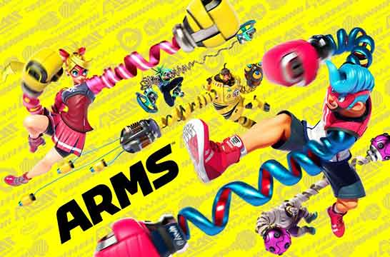 Nintendo arms cover