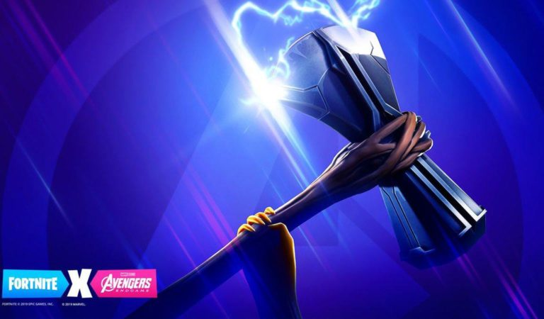 Fortnite Teases Avengers – Features Thor,s Axe