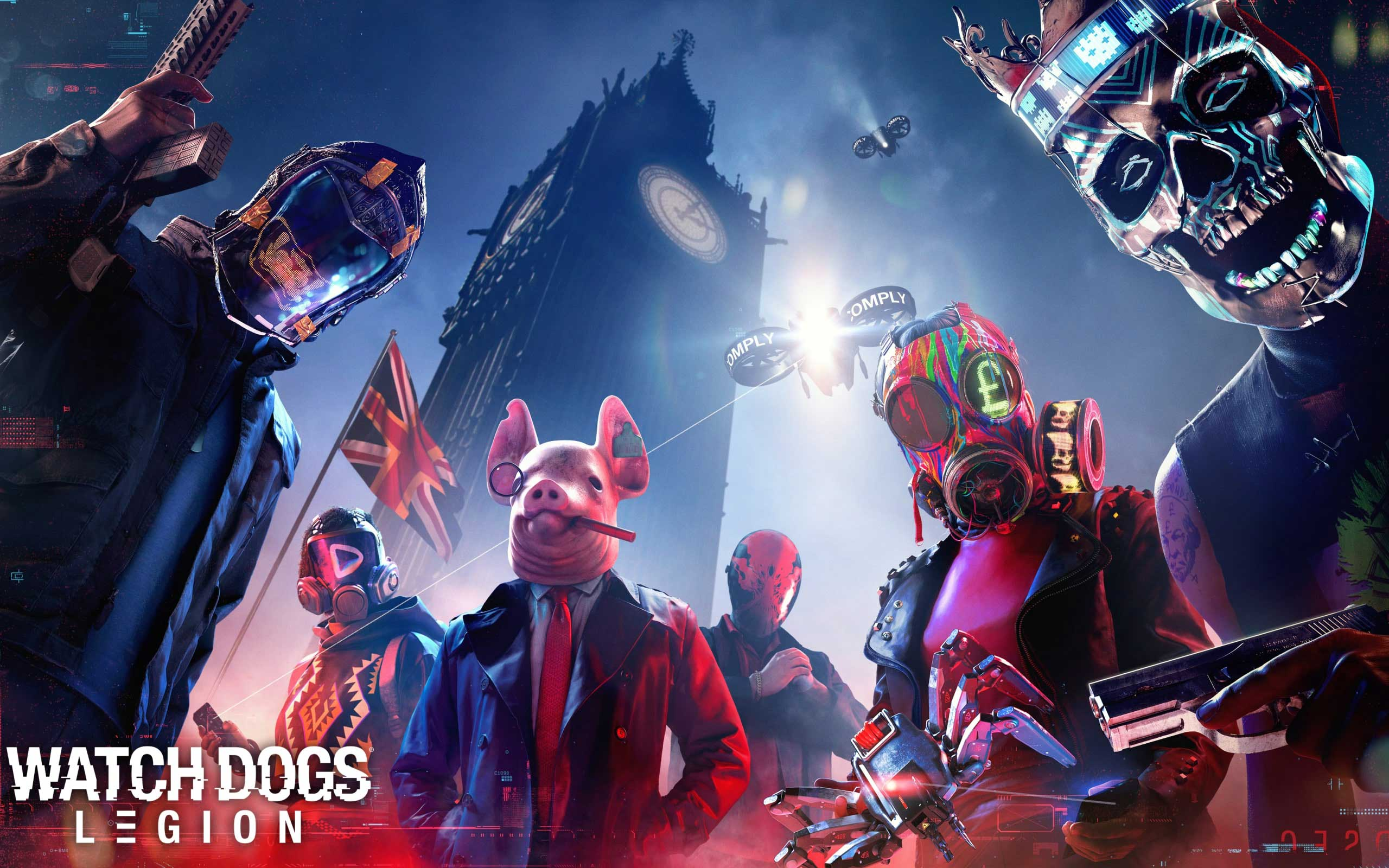 Watch Dogs Legion poster