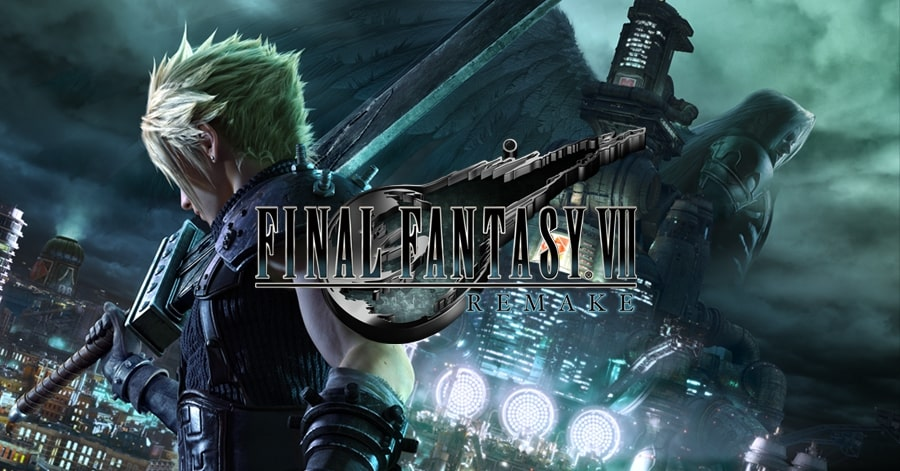 Final fantasy 7 remake poster