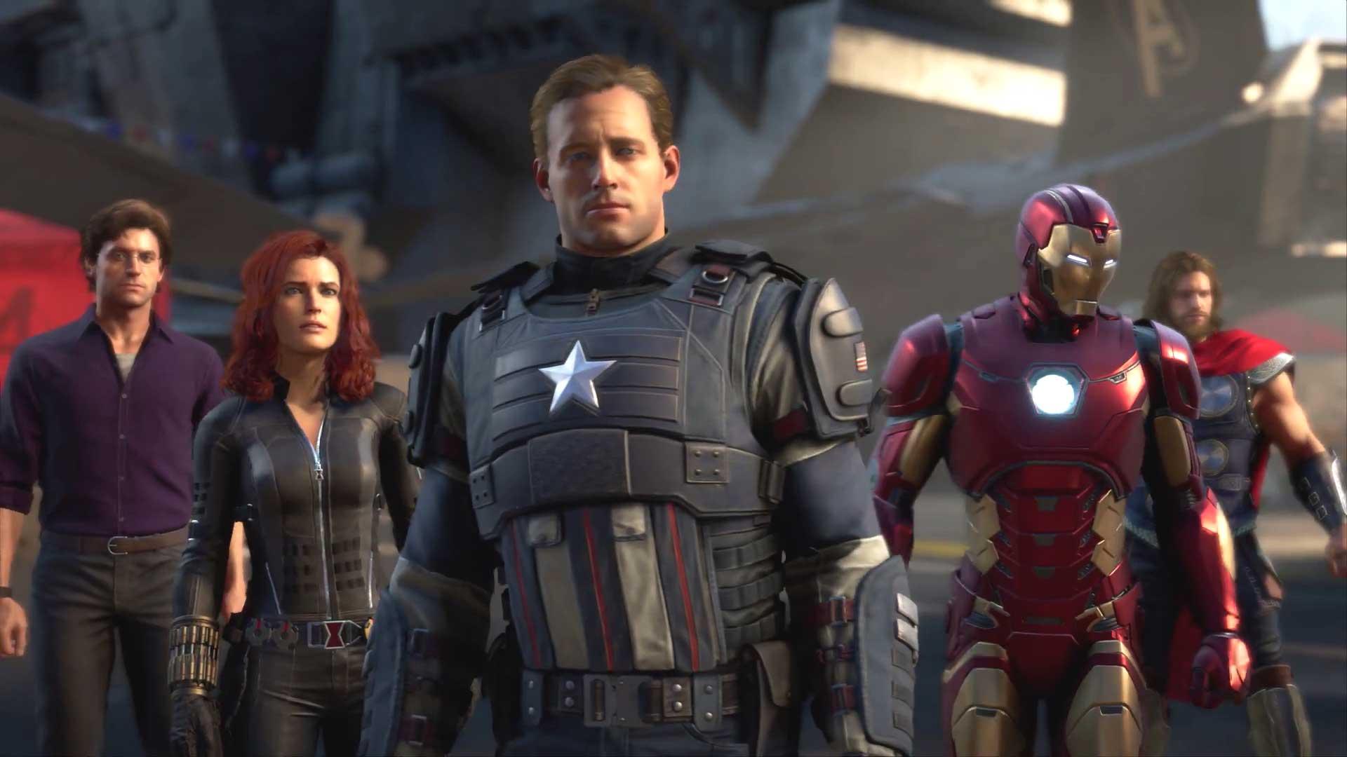 Marvel's Avengers Game Poster